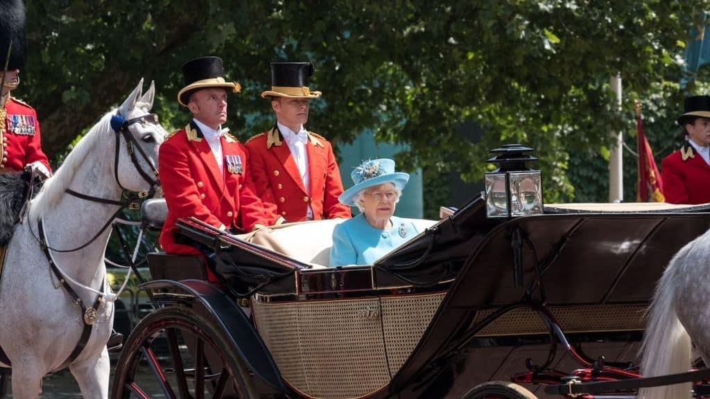 La Regina Elisabetta e il Trooping the Colour