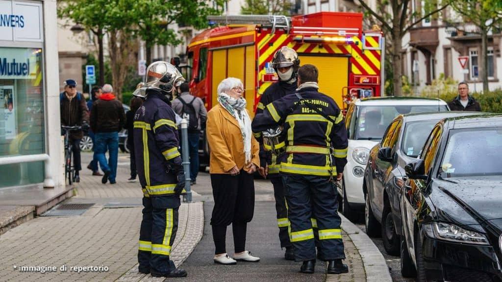 vigili del fuoco a strasburgo