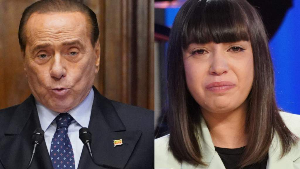 Berlusconi Malika Chalhy e Temptation Island