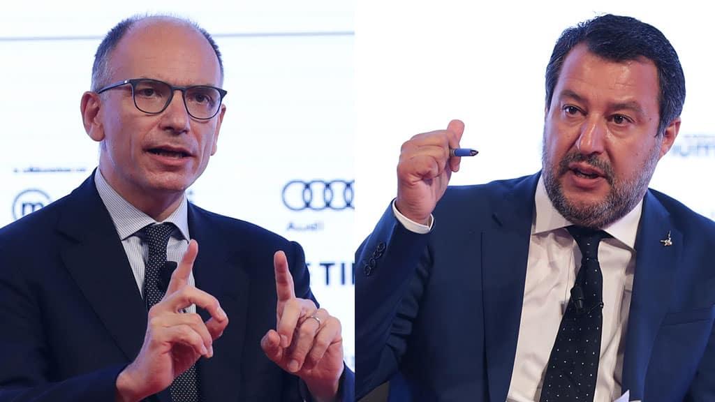 Enrico Letta risponde a Salvini sulla mediazione per il ddl Zan