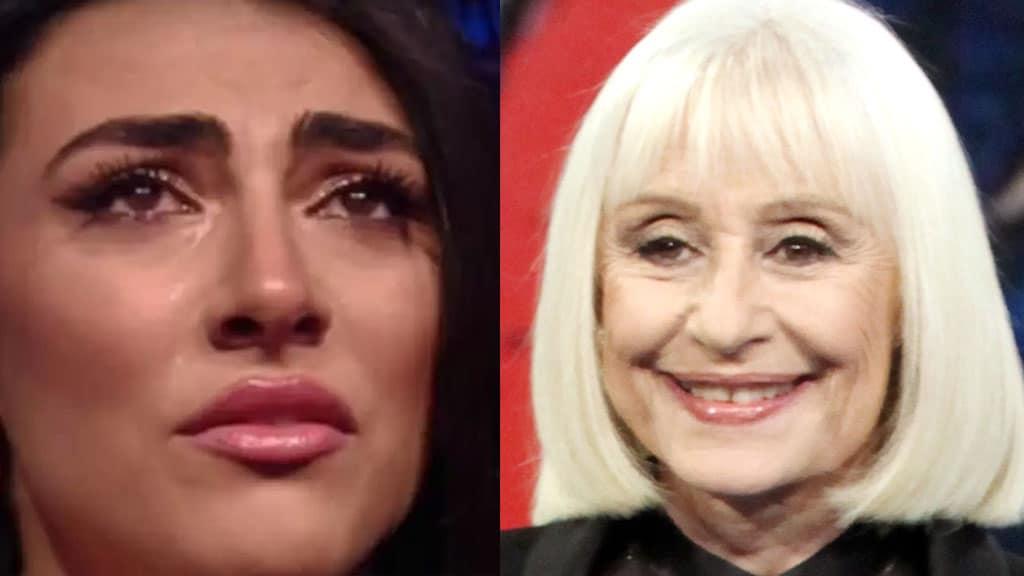 Giulia Salemi: la dedica a Raffaella Carrà scatena polemiche