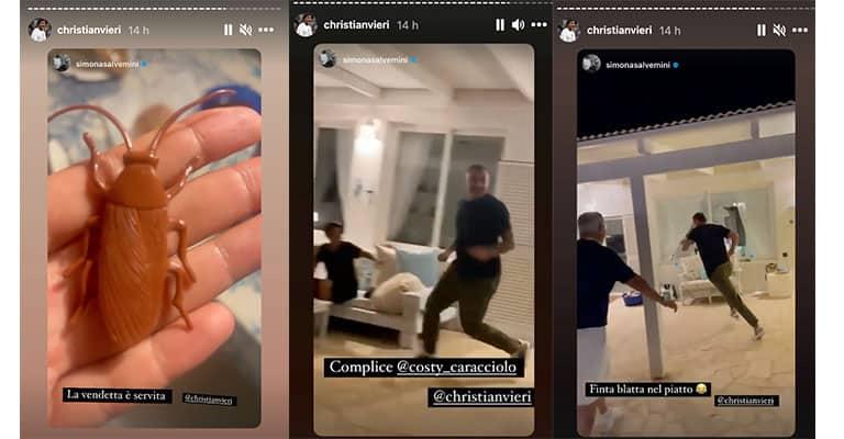 Instagram Stories di Bobo Vieri