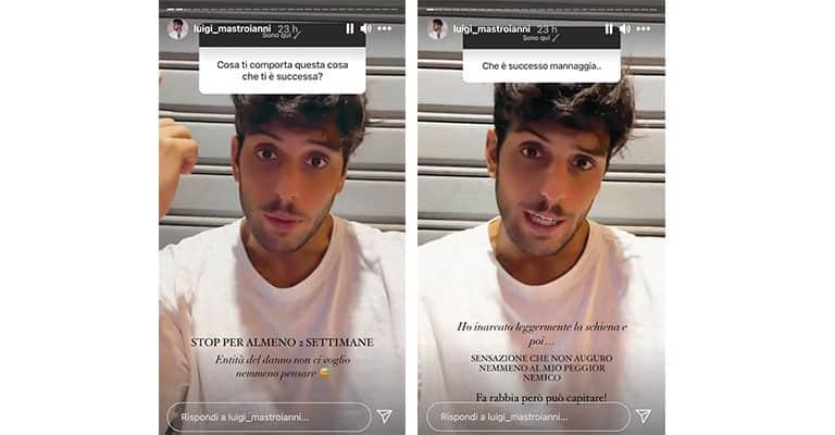 Instagram Stories di Luigi Mastroianni