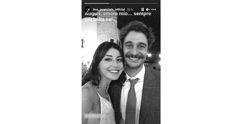 Instagram Story di Lino Guanciale
