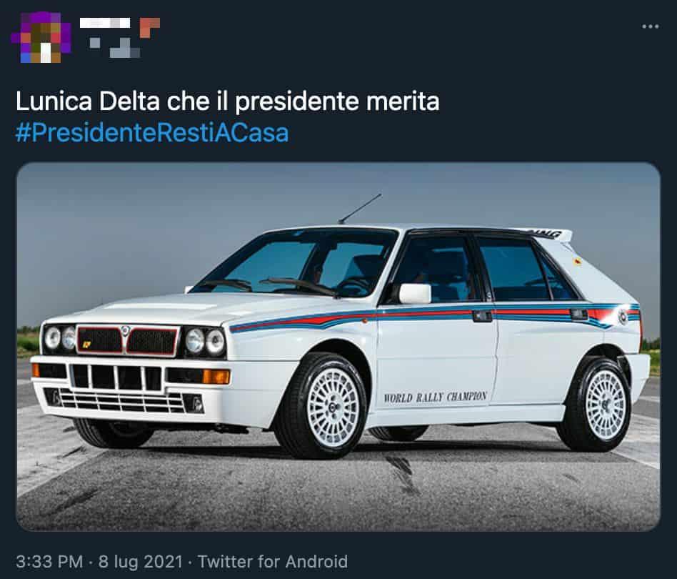 Ironia social sul presidente Mattarella a Londra