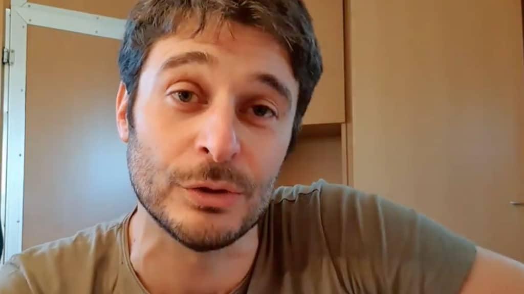 Lino Guanciale: dedica alla moglie