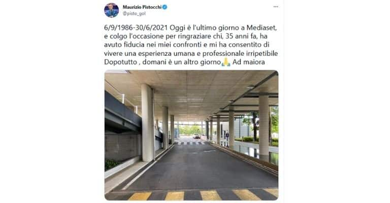 Tweet Maurizio Pistocchi