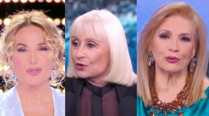 Raffaella Carrà Barbara d'Urso Iva Zanicchi