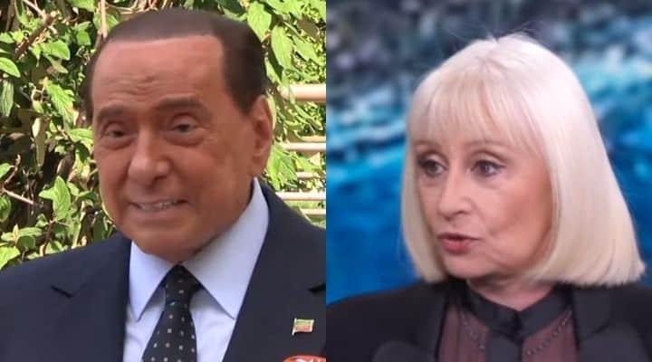 Raffaella Carra Silvio Berlusconi