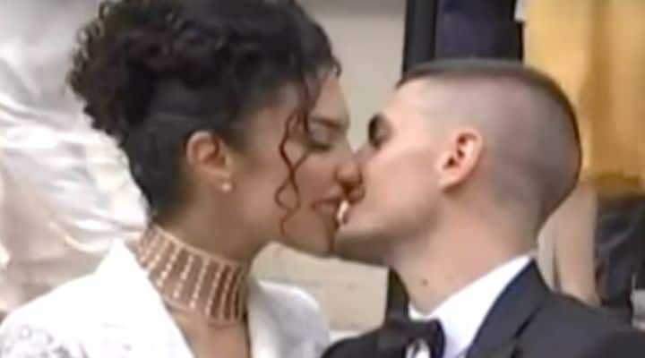 Verratti bacio matrimonio