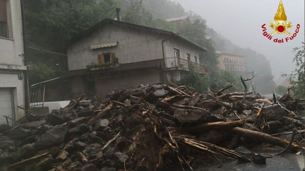 maltempo inghiotte la provincia di Como