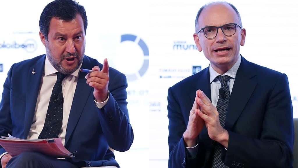 ddl Zan, Salvini chiede incontro a Letta
