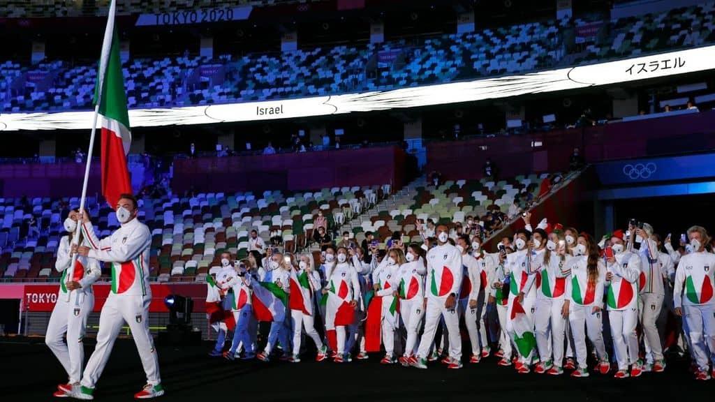 delegazione italiana olimpiadi tokyo