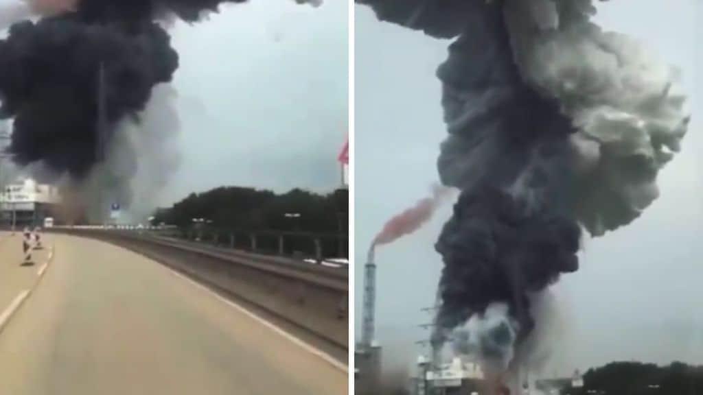 Bilancio esplosione in uno stabilimento chimico in Germania