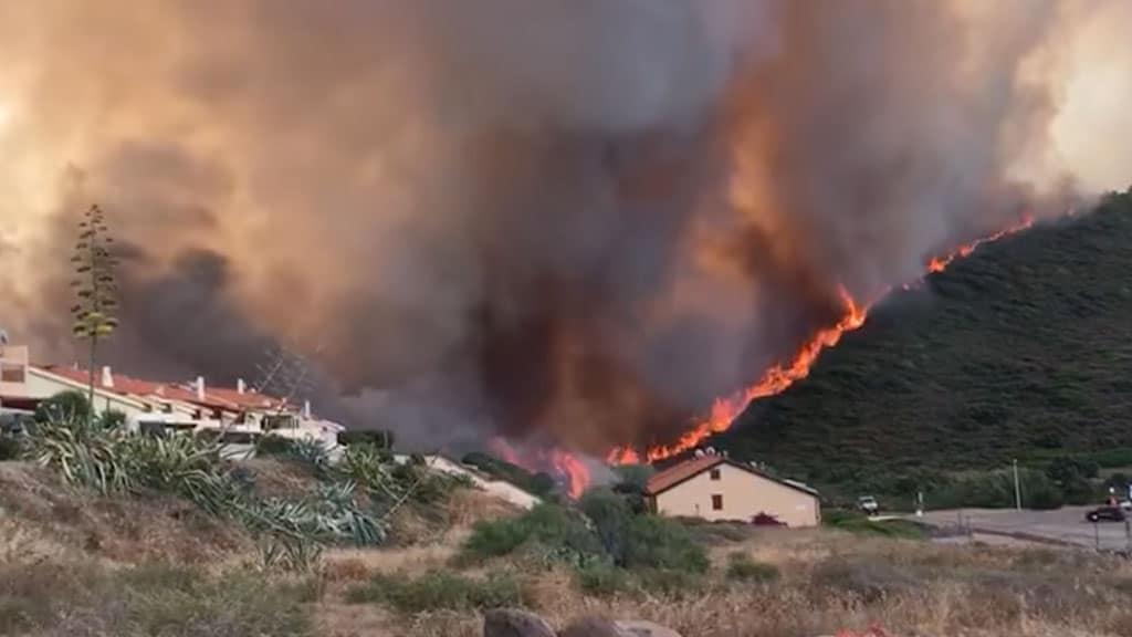 Incendi a Oristano