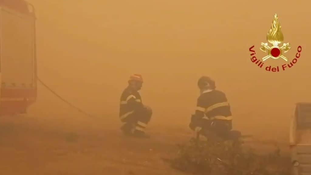 incendi in Sardegna: protezione civile chiede aiuto alla Ue