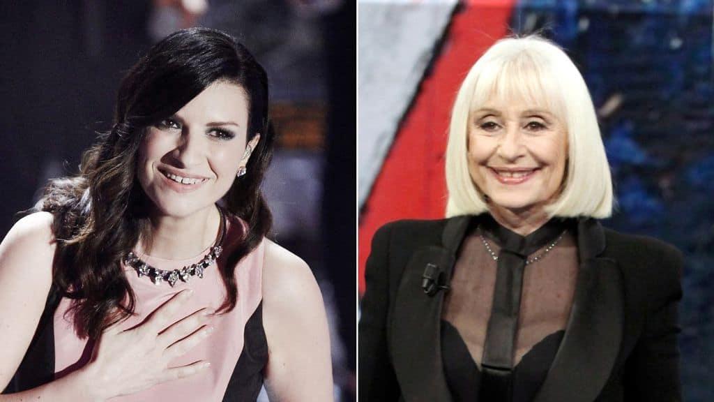 """Laura Pausini ricorda Raffaella Carrà, ma scoppia la polemica per la foto della cantante: """"Agghiacciante"""""""