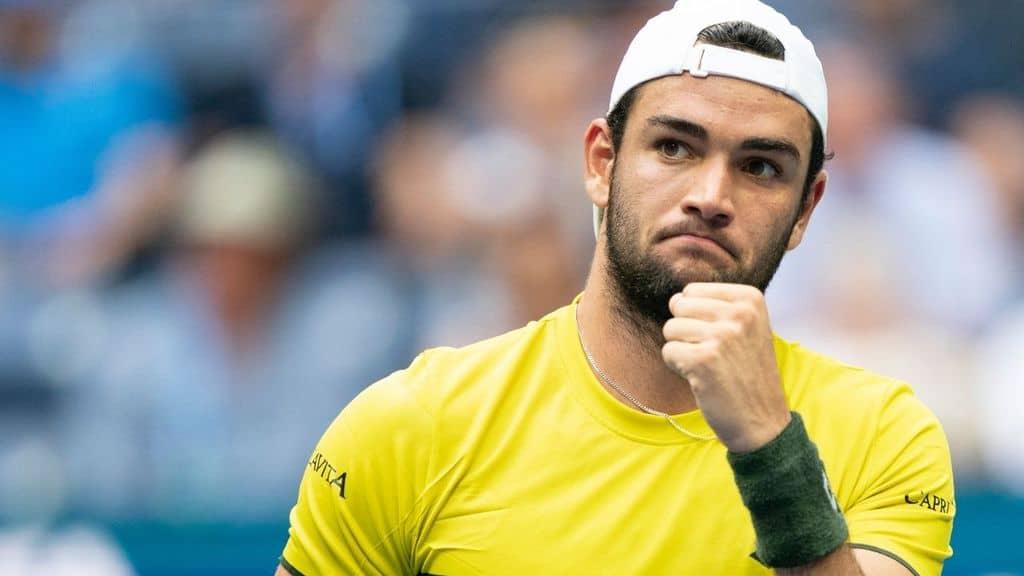 Matteo Berrettini campione di tennis in finale a Wimbledon
