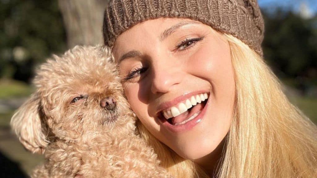 """Lutto per Michelle Hunziker, morta la cagnolina Lilly: """"Ho il cuore spezzato, era la mia amica"""""""