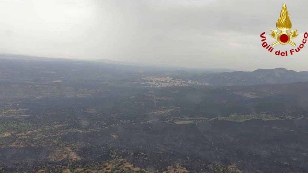 Sardegna : pista dolosa per gli incendi