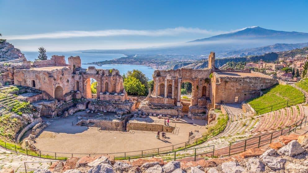 Rovine dell'Antico Teatro Greco di Taormina