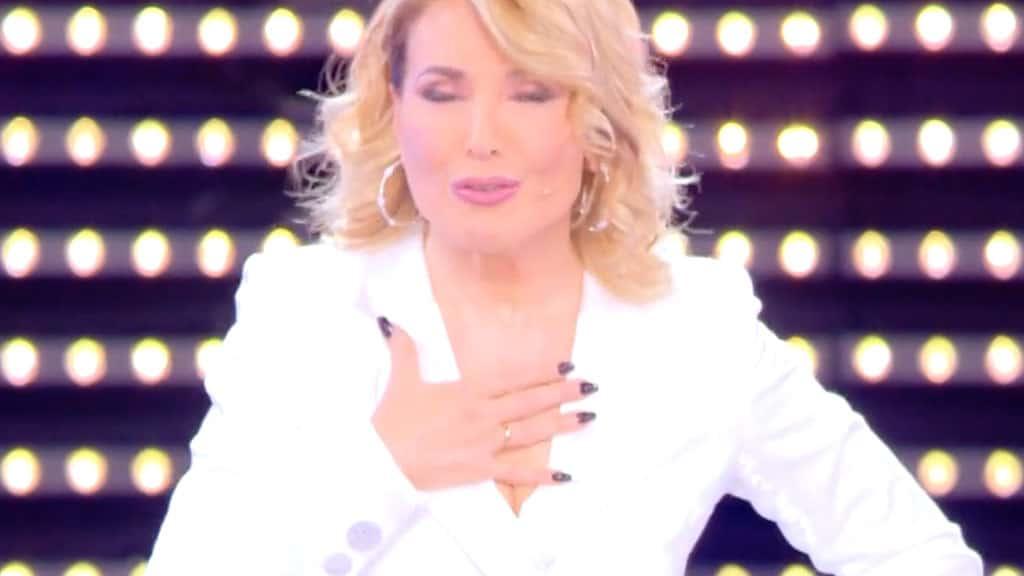 Barbara d'Urso: la foto con il pancione