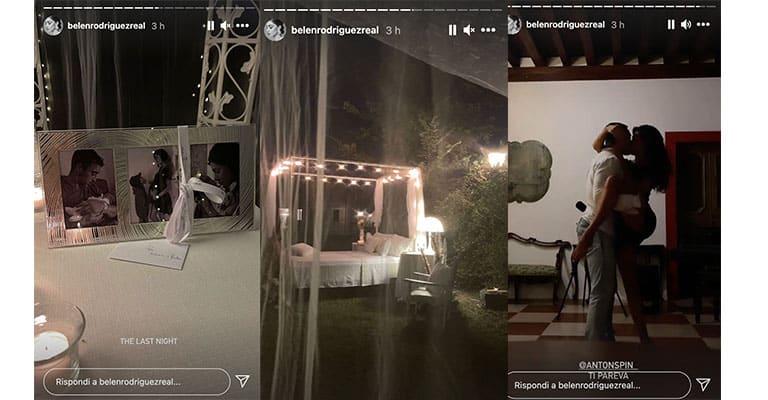 Instagram Stories di Belen
