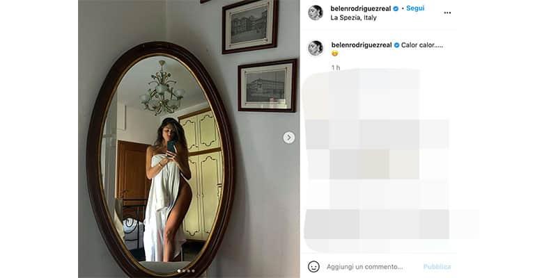 Post di Belen su Instagram