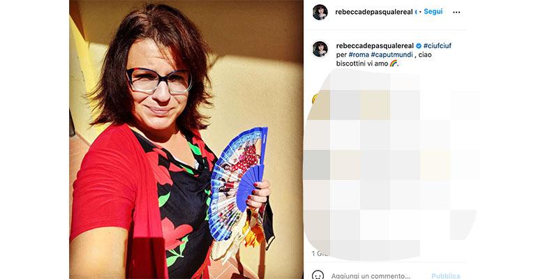 Post di Rebecca De Pasquale su Instagram