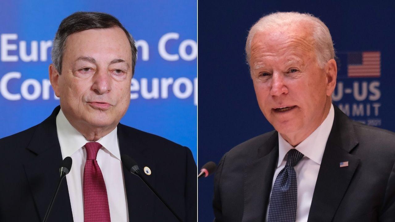 Draghi, telefonata con Biden sull'Afghanistan: coordinamento sull'evacuazione, disperazione all'aeroporto di Kabul