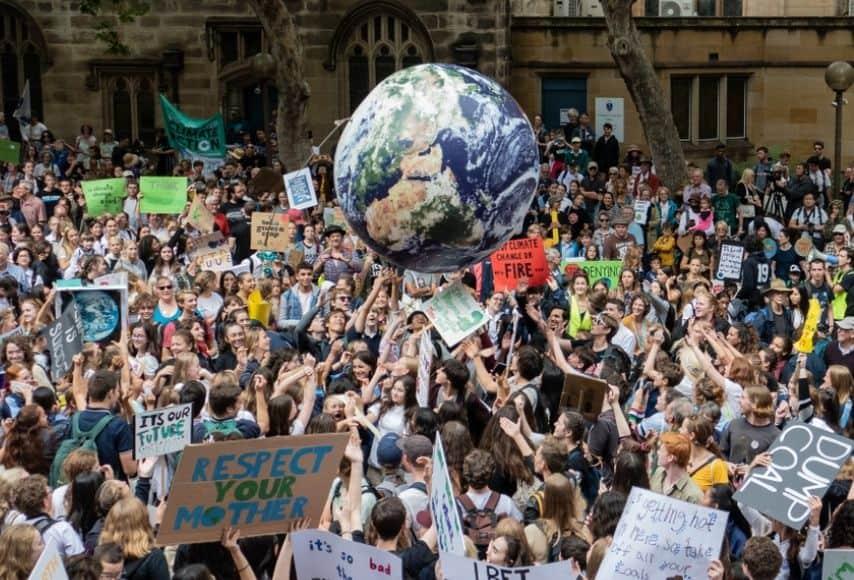 proteste per il clima