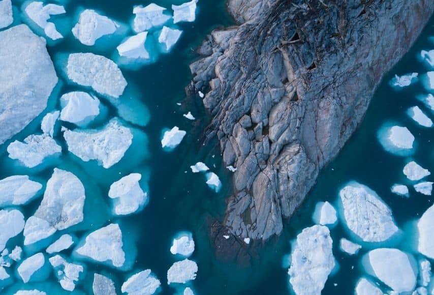 scioglimento ghiacciai in groenlandia