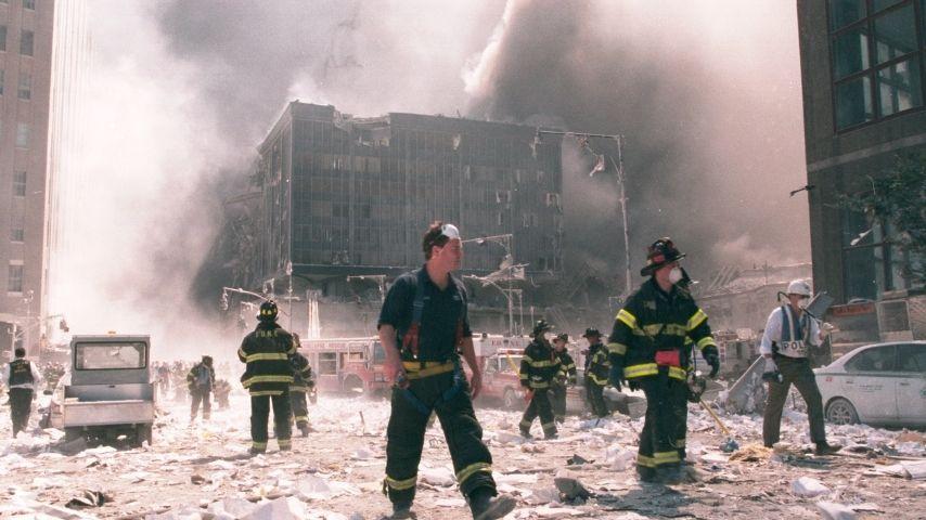 Ground Zero- 11 settembre 2001 Immagine di repertorio