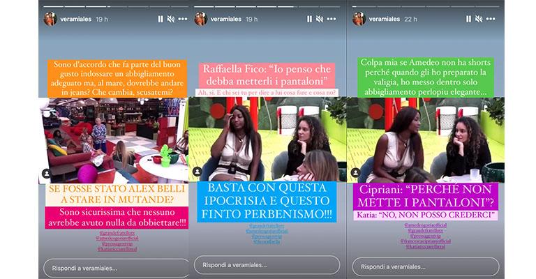 Instagram Stories di Vera Miales