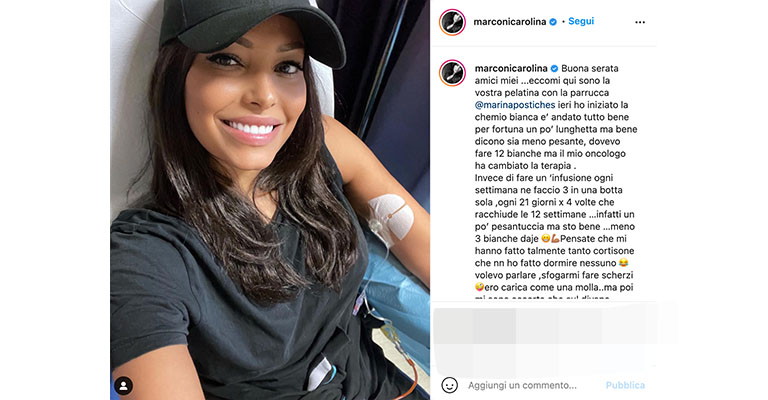 Post di Carolina Marconi su Instagram