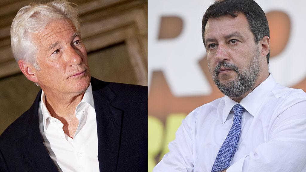 Open Arms: Richard Gere testimone contro Matteo Salvini nel processo che si celebra a Palermo