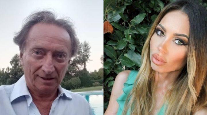 La fidanzata di Amedeo Goria è incinta: le foto di Vera Miales con il pancino sospetto mentre lui è al GF Vip
