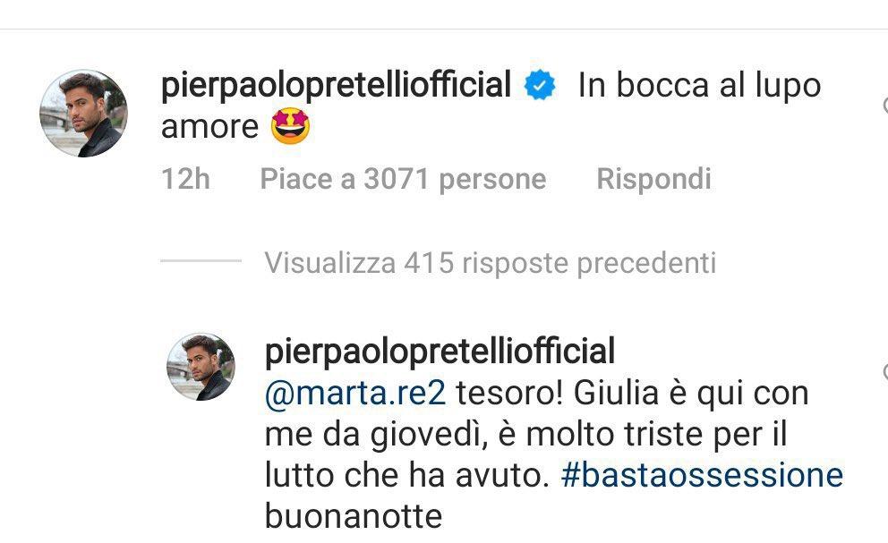 I commenti di Pierpaolo Pretelli