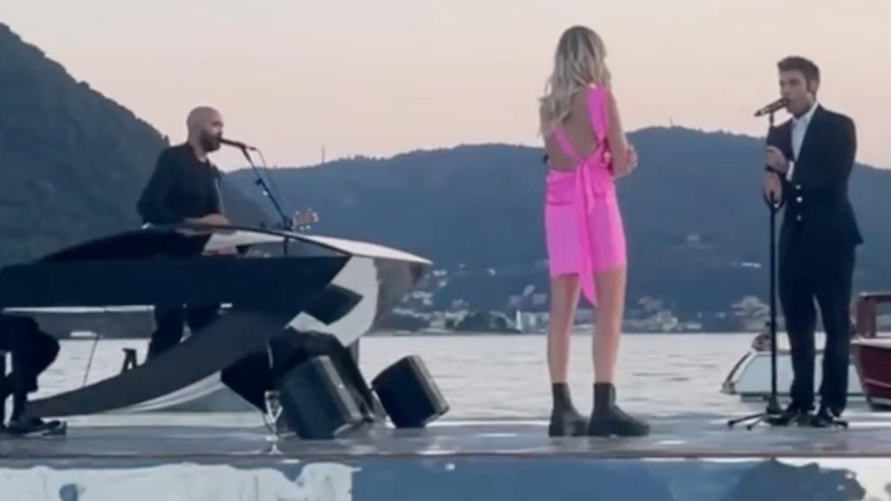 Chiara Ferragni e Fedez, terzo anniversario con sorpresa sul Lago di Como: il video e le lacrime