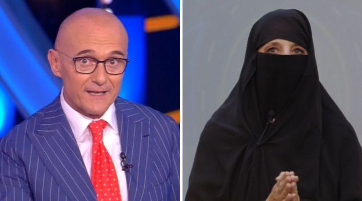 Jo Squillo criticata per il niqab indossato al GF Vip: il duro attacco alla concorrente e ad Alfonso Signorini