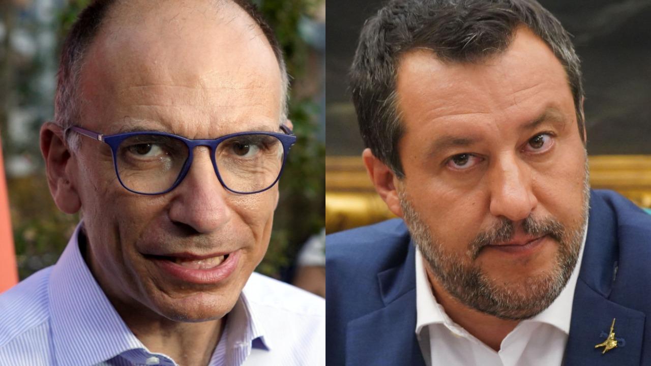 Green Pass obbligatorio: la Lega vota no e si apre la spaccatura nella maggioranza. È scontro Letta-Salvini