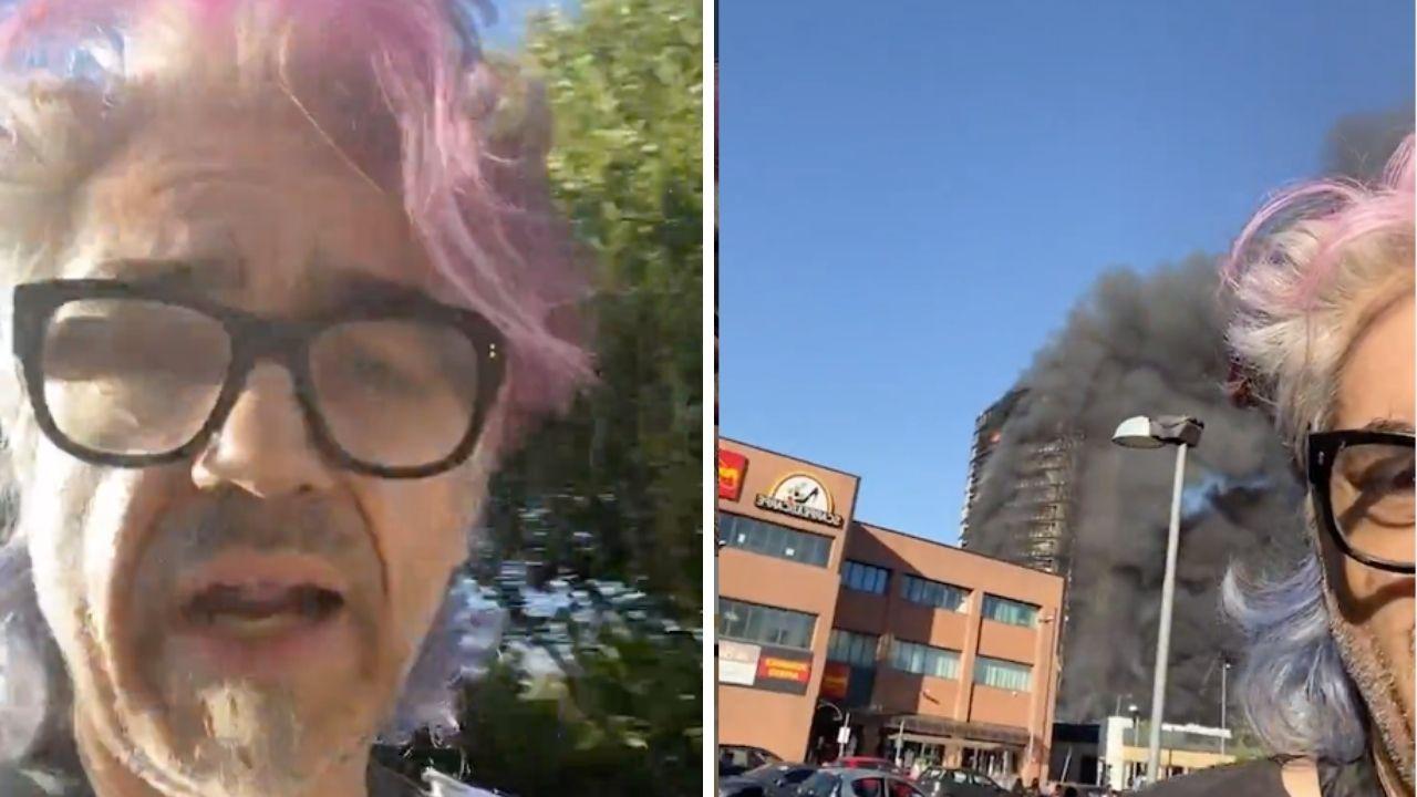 """Incendio a Milano, l'iniziativa di Morgan: """"Ospiterò una o due famiglie che hanno perso l'appartamento"""""""