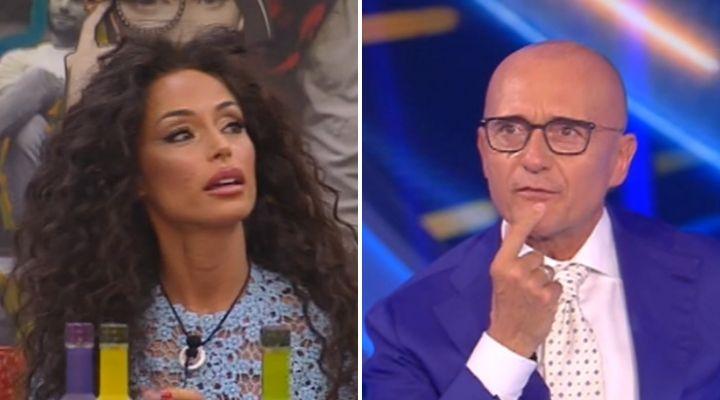 Alfonso Signorini e il look di Raffaella Fico al GF Vip: il piccato commento del conduttore spiazza la modella