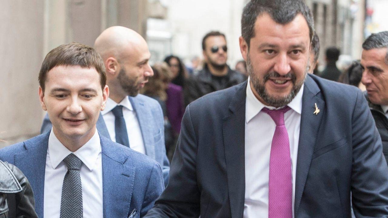 """Matteo Salvini difende Luca Morisi, indagato per cessione di droga: """"Su di me potrai contare sempre"""""""