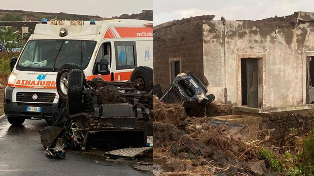 """Tromba d'aria a Pantelleria: morti e feriti, 4 in gravi condizioni. Un soccorritore: """"Scena apocalittica"""""""
