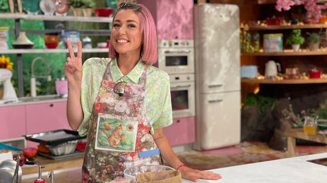 Sara Brancaccio, la pasticciera della TV, che ha avuto il coraggio di cambiare inseguendo la felicità