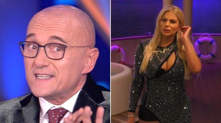 """Alfonso Signorini commenta le urla di Francesca Cipriani al Grande Fratello Vip: """"Sembra un film porno!"""""""