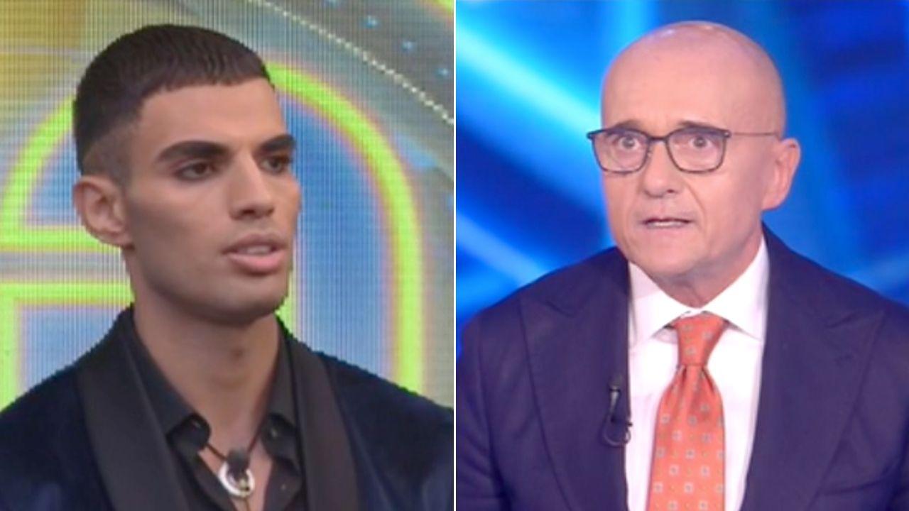 """Alfonso Signorini furioso con Samy Youssef al Grande Fratello Vip: """"Stai zitto, rispetta il mio lavoro"""""""