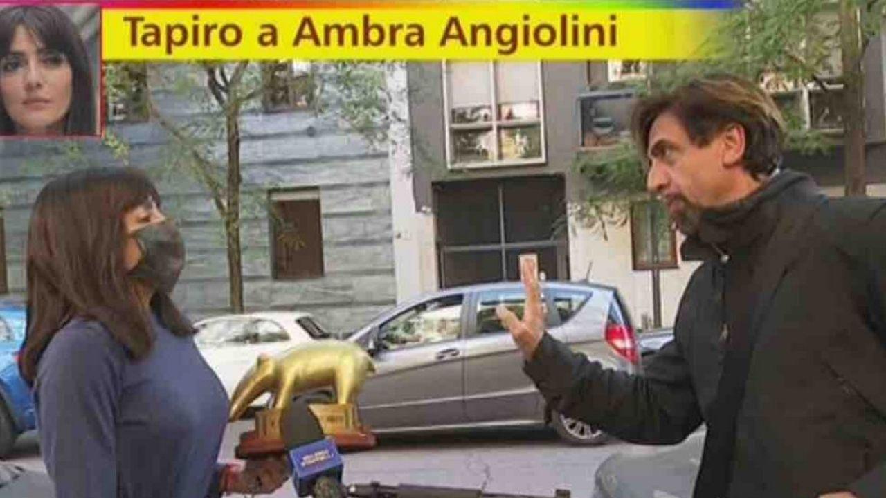 Tapiro ad Ambra Angiolini, Striscia la Notizia rompe il silenzio sulla polemica: il video retroscena