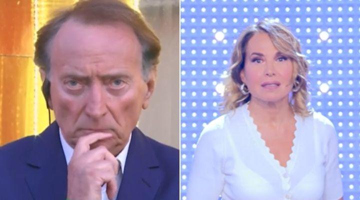 Barbara D'Urso e i sospetti su Amedeo Goria e Vera Miales: il giornalista smascherato a Pomeriggio Cinque
